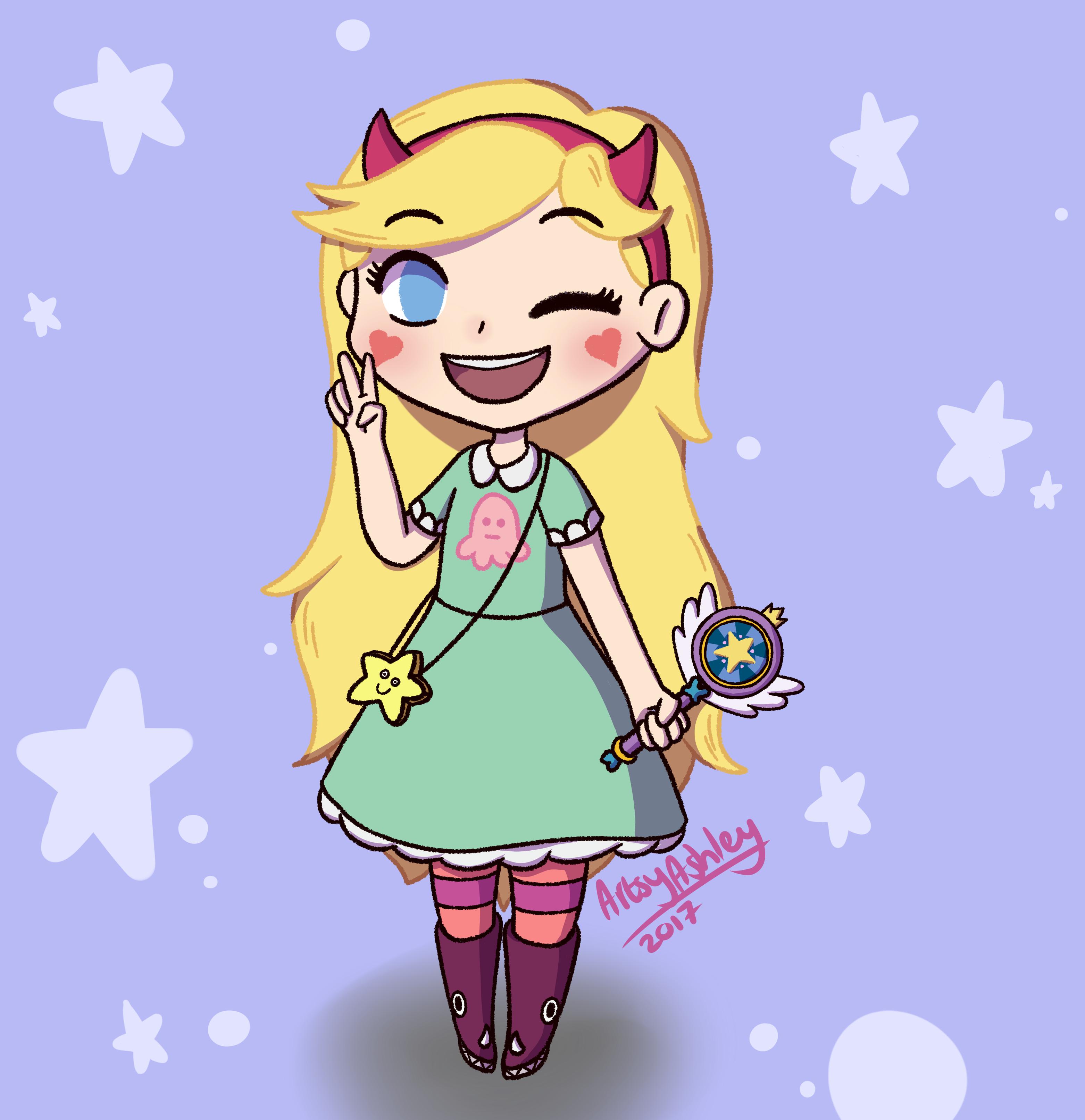 Chibi Star Butterfly