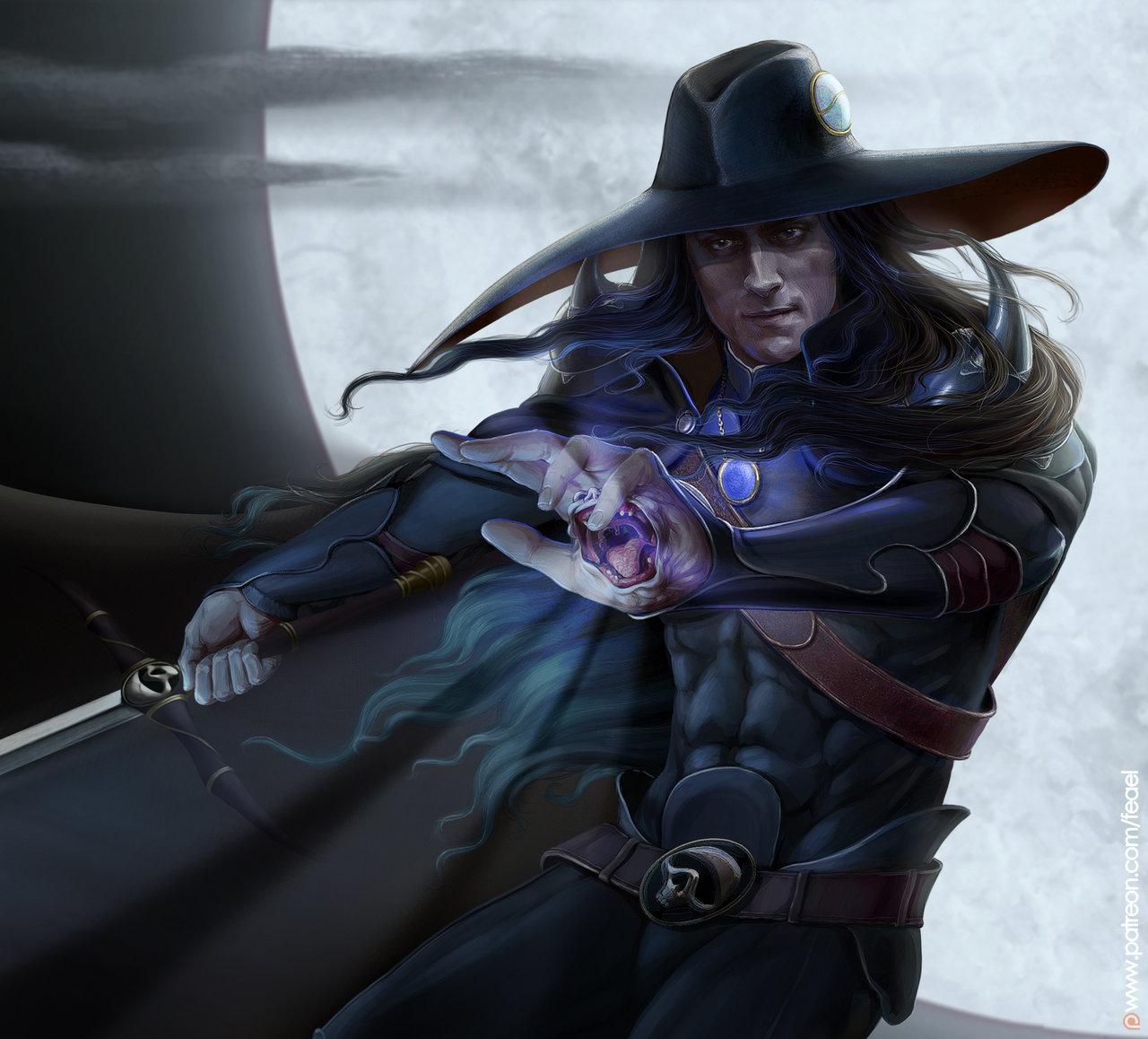 Vampire hunter D. Fanart