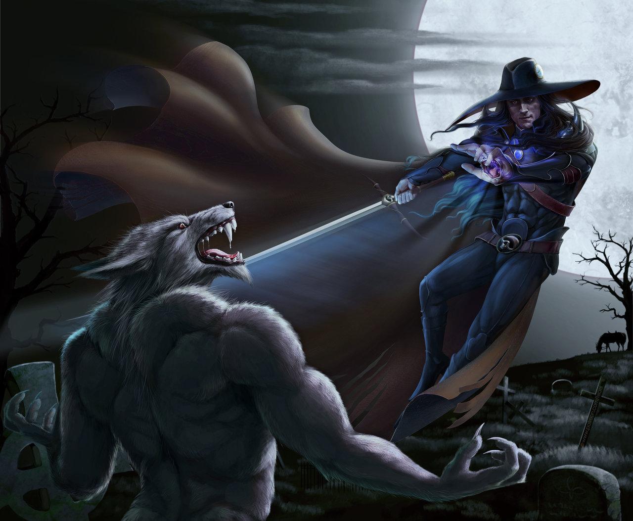 Vampire hunter D. Duel (color 3)