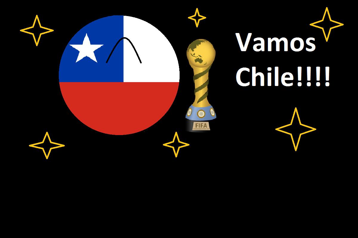 Chile= copa confederación :3