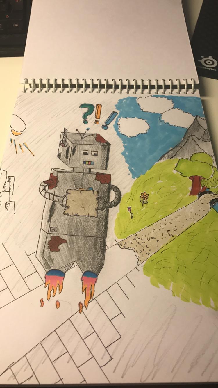 A robot's Quest