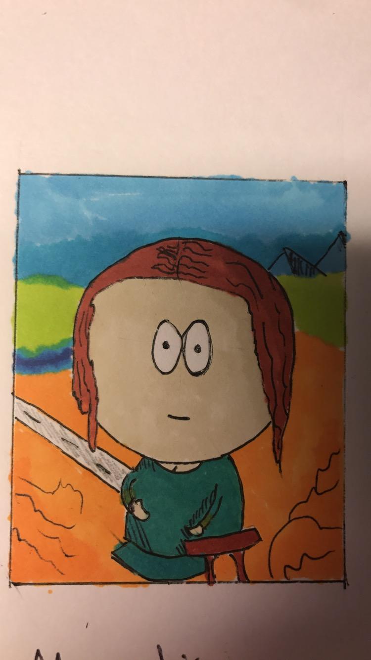 Mona Lisa South Park COTM: Style Swap