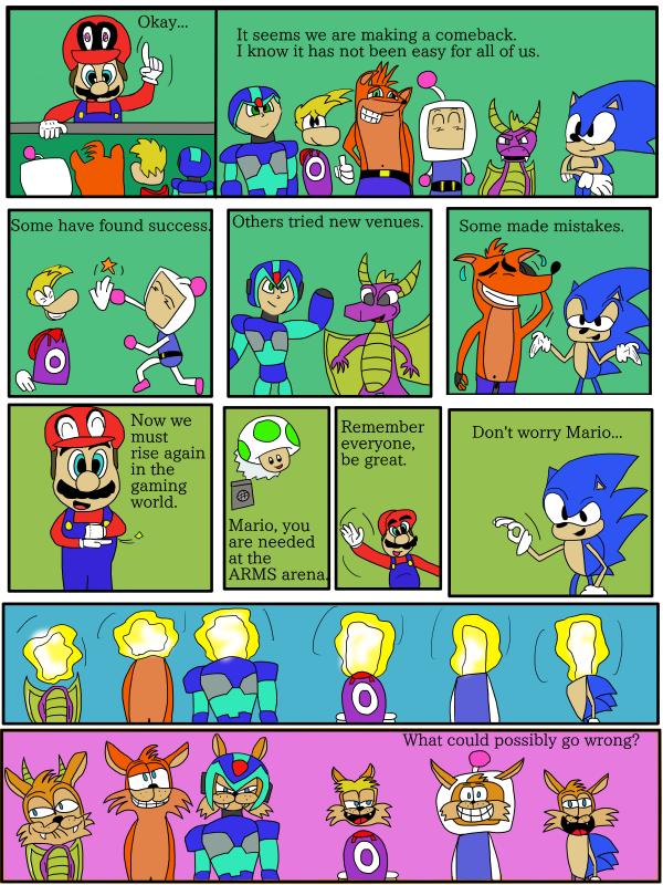 Video Game Secret Invasion