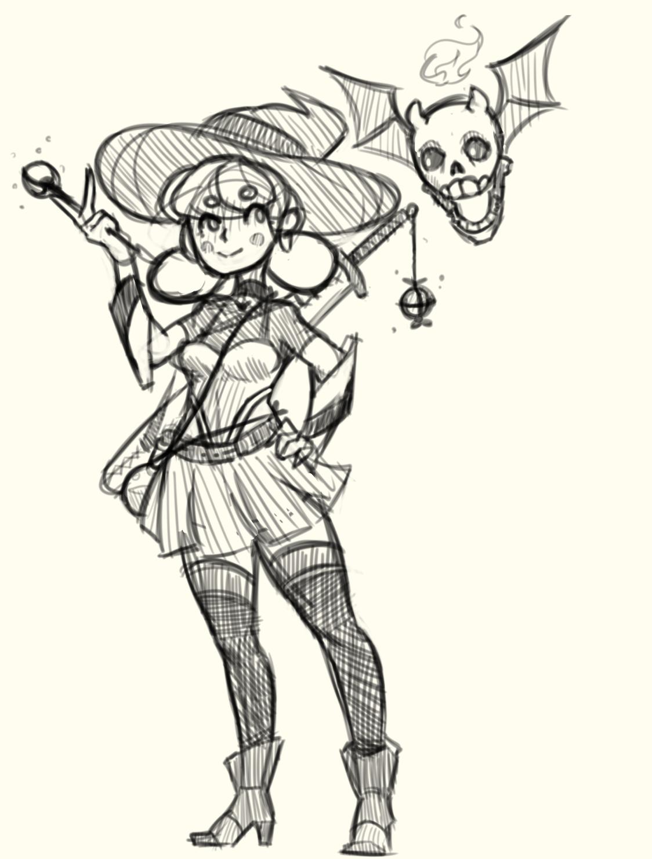 Witchventurer sketch