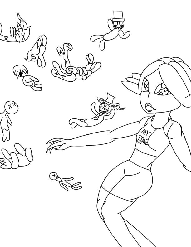 Daughter time sketch