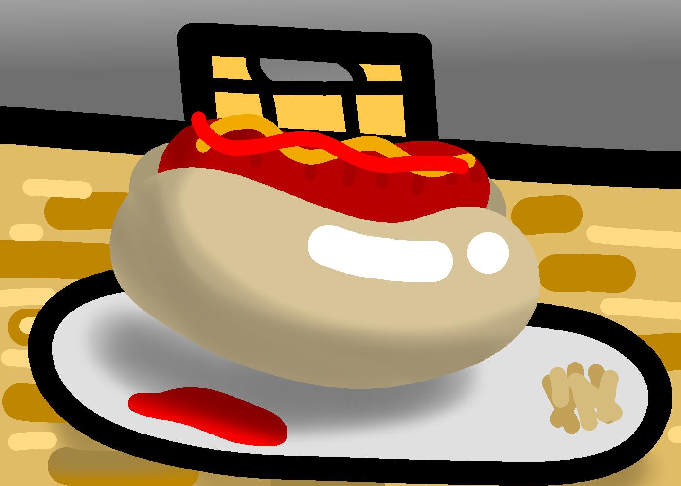 A hotdog