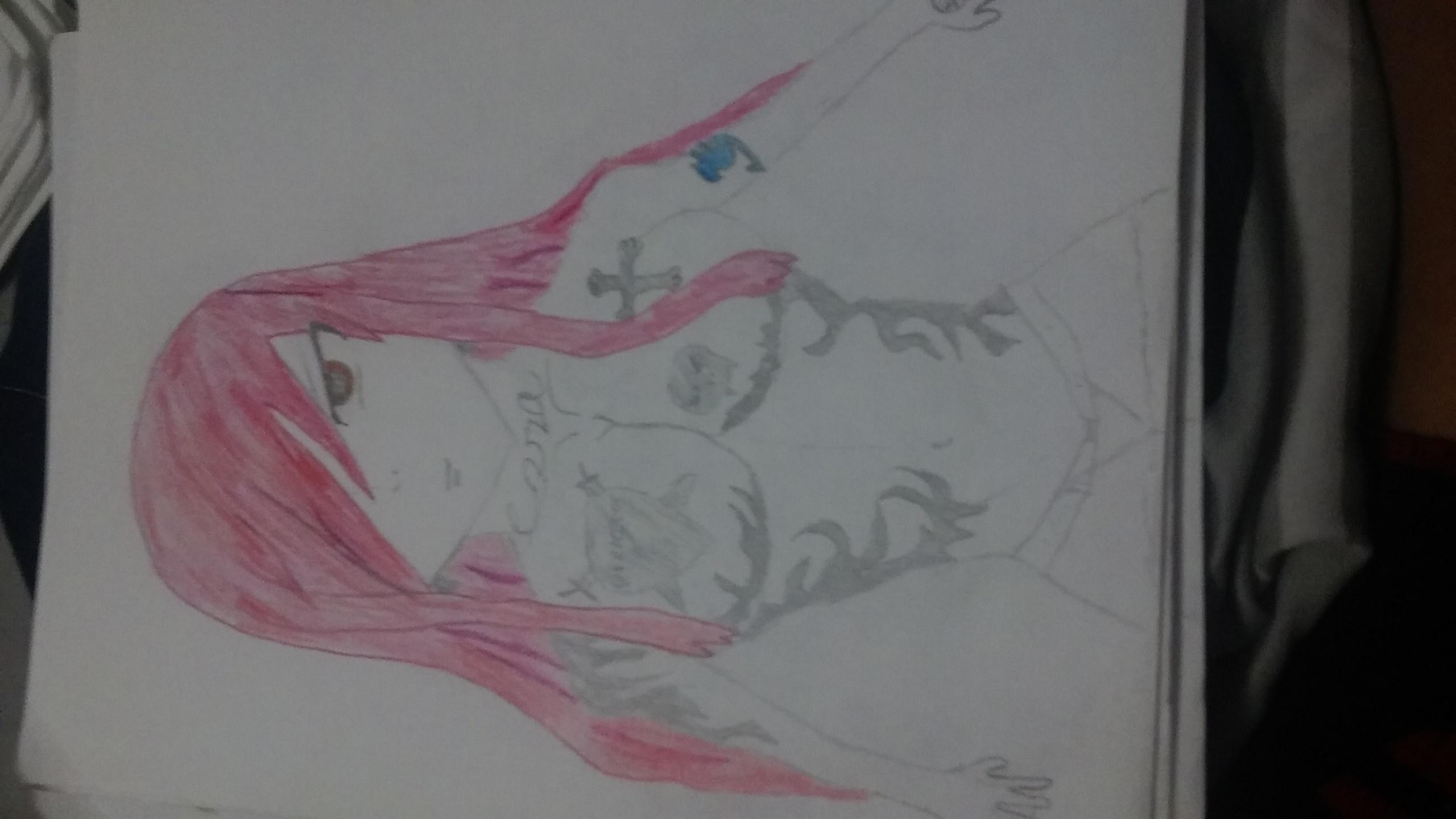 Erza Scarlet (Tattoo version))