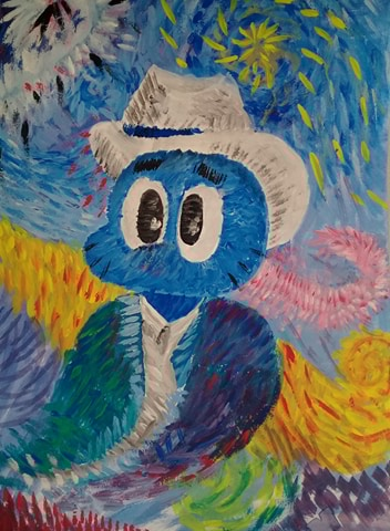 bluecat_with_white_hat