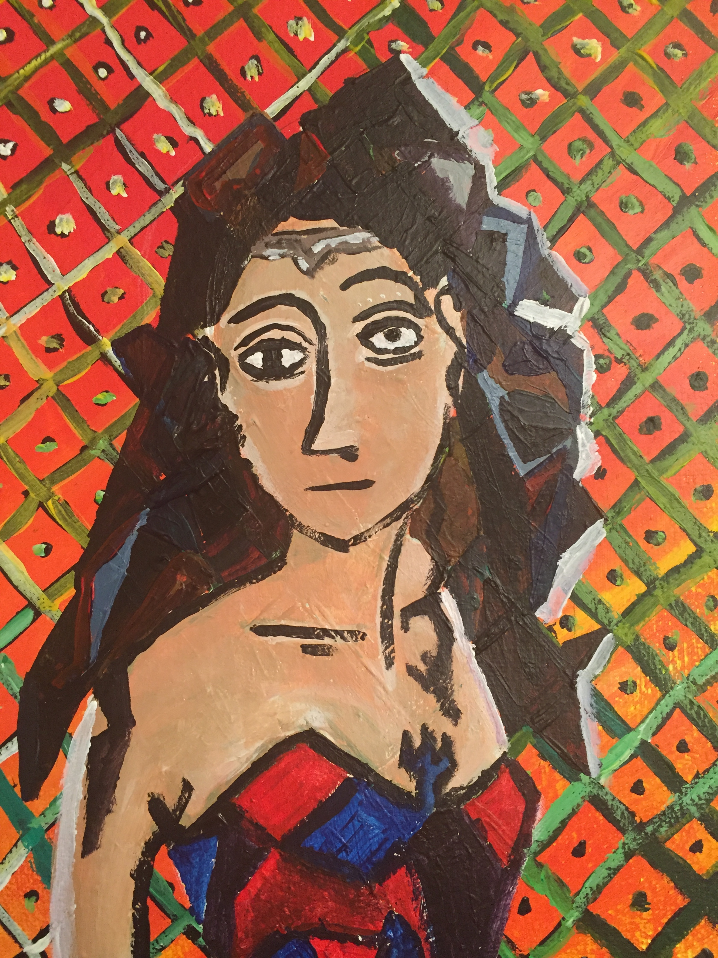 Wonder Woman - Picasso style