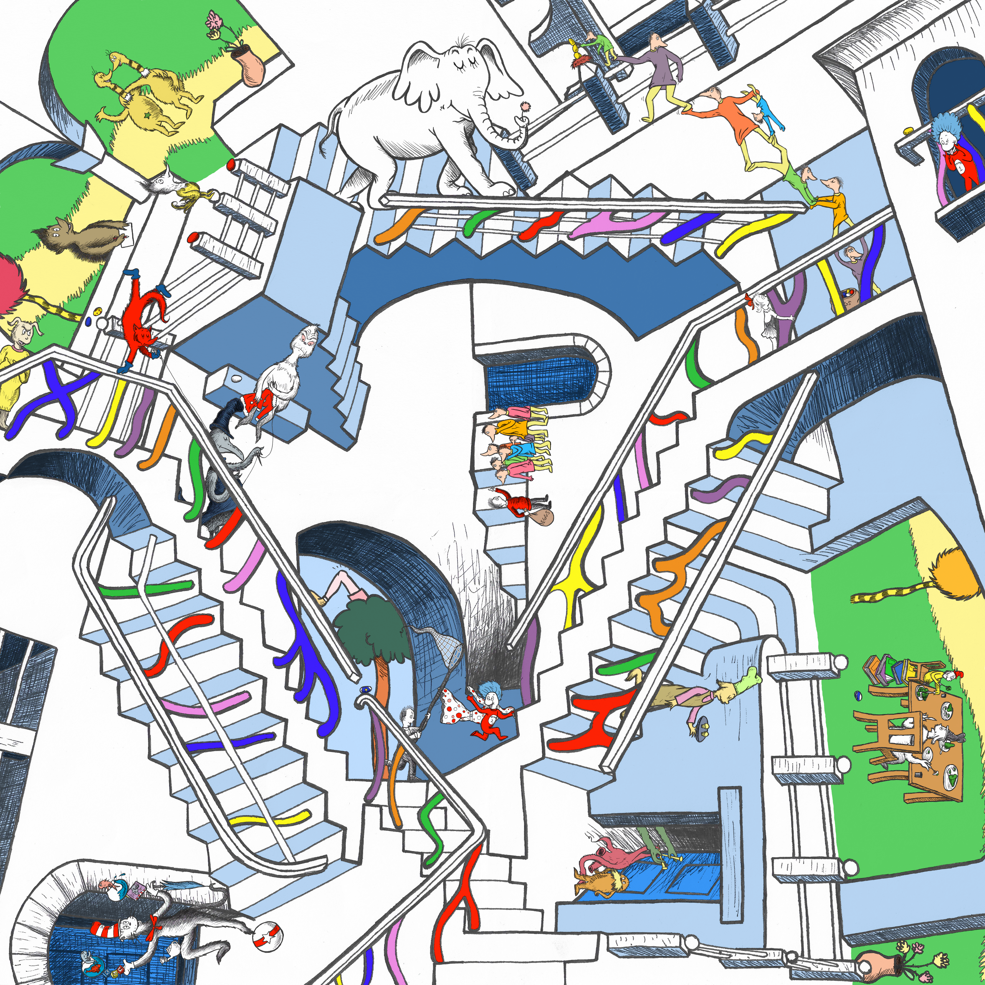 DWJ Style Swap- Dr Seuss/Relativity
