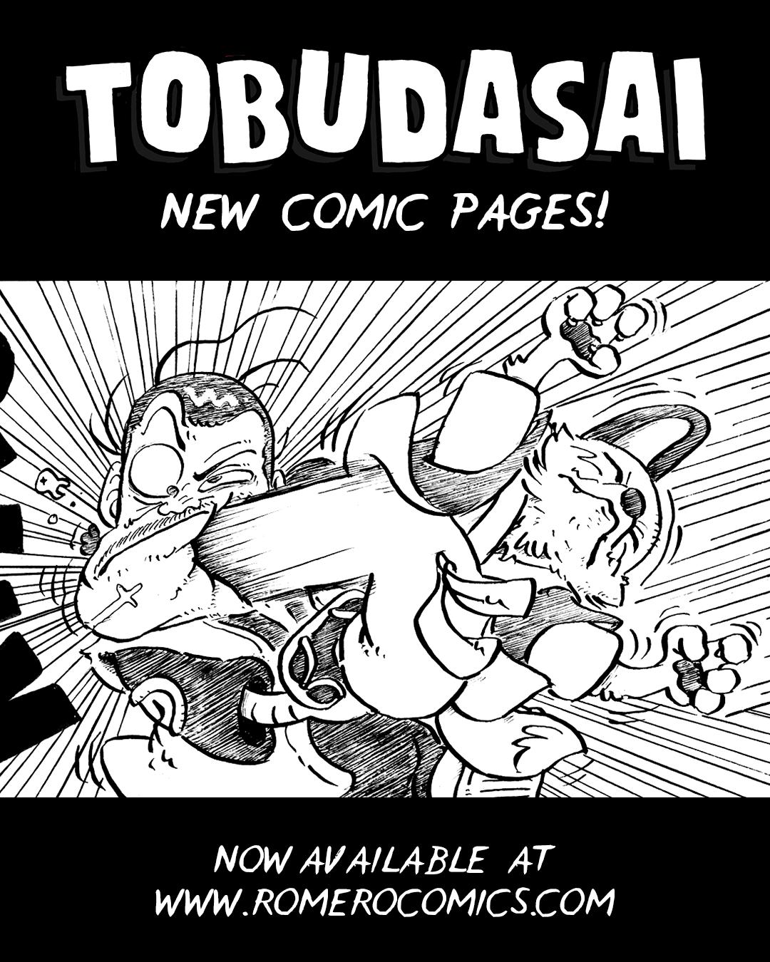 TOBUDASAI - Chapter 14   comic update!