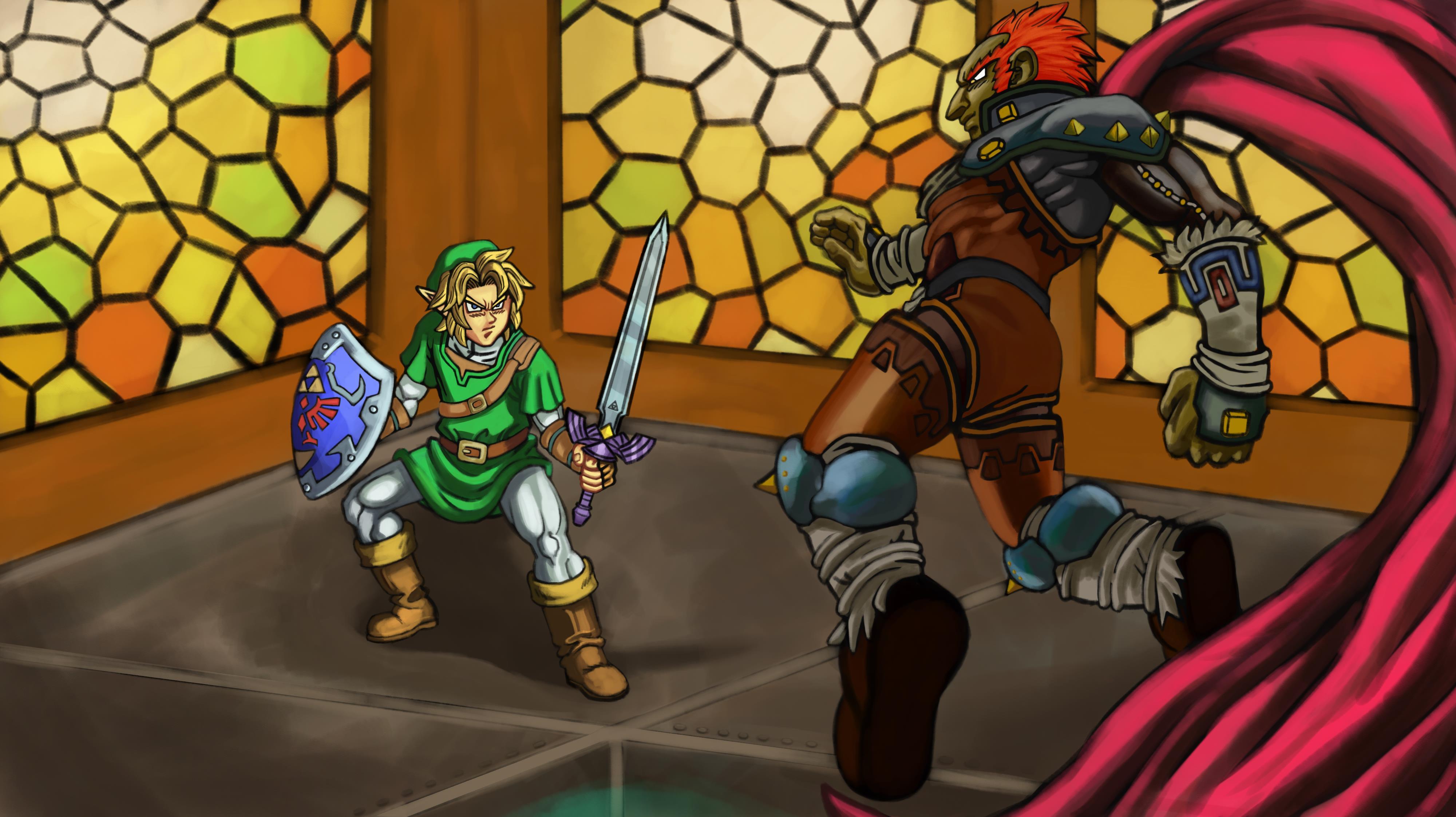 Legend of Zelda Toriyama style