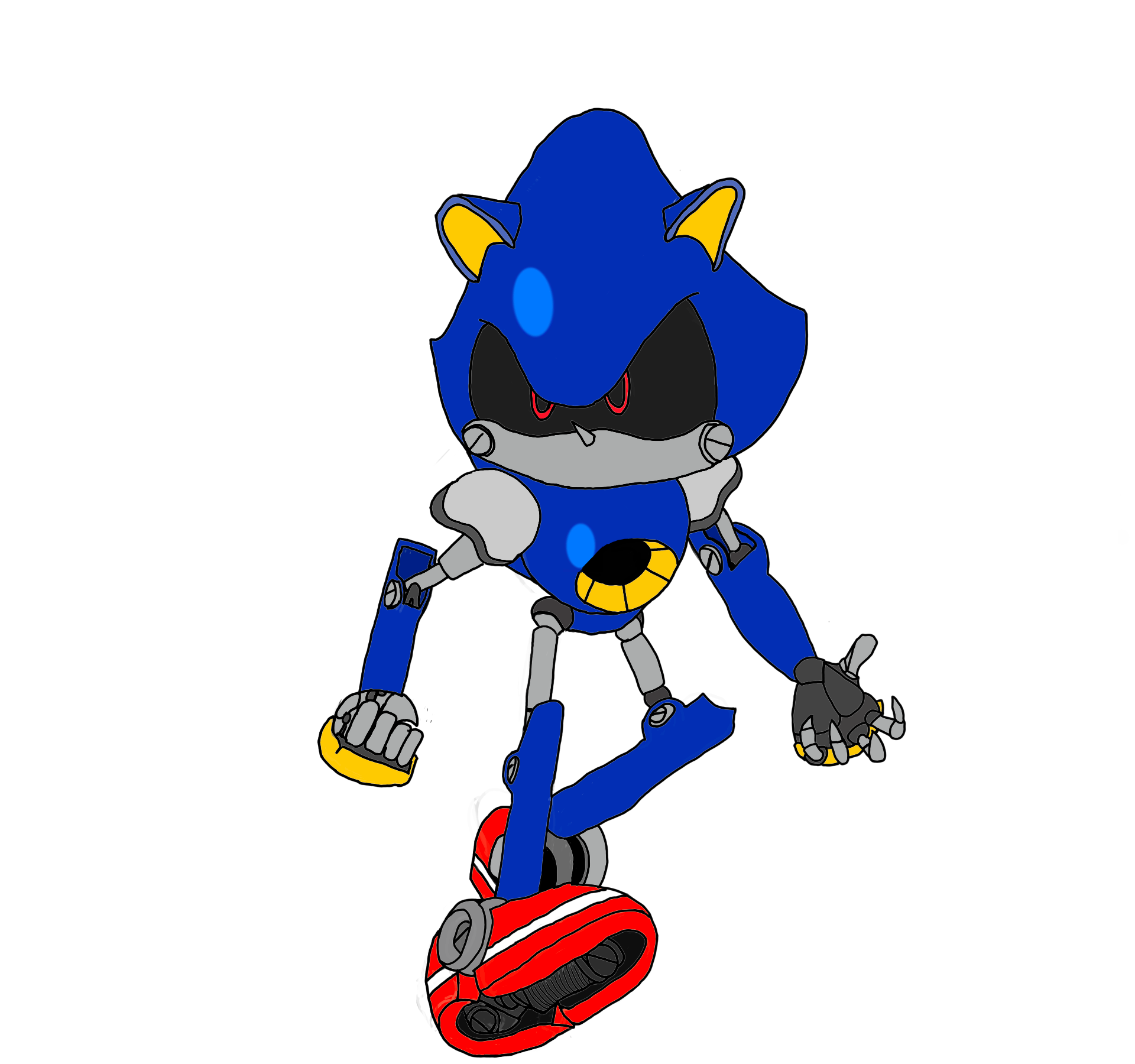Metal Sonic (Unoriginal)
