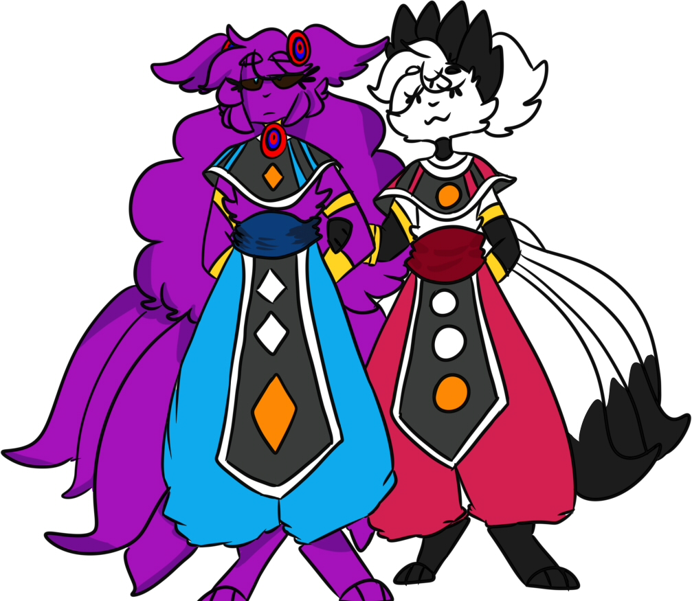 luna and vulpo cosplaying