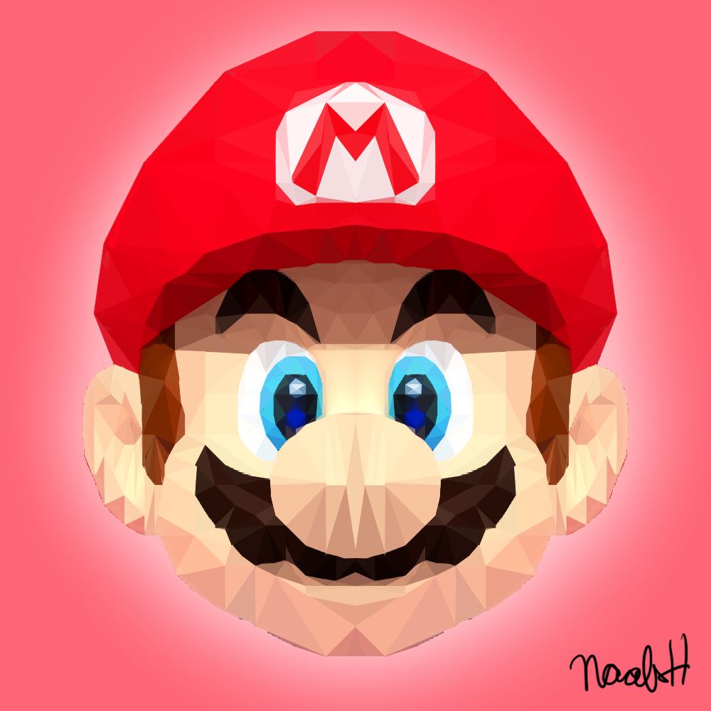 Polygonal Mario