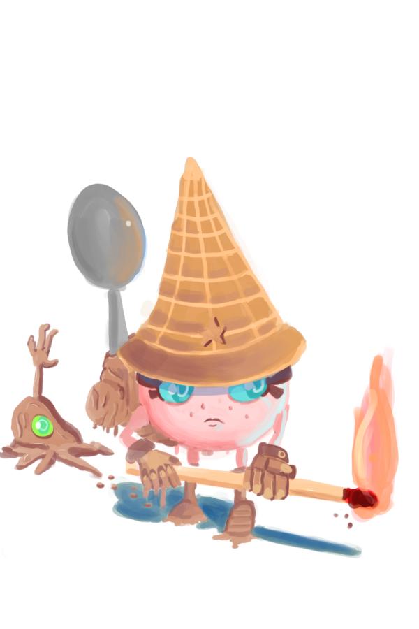 icecream flamethrower