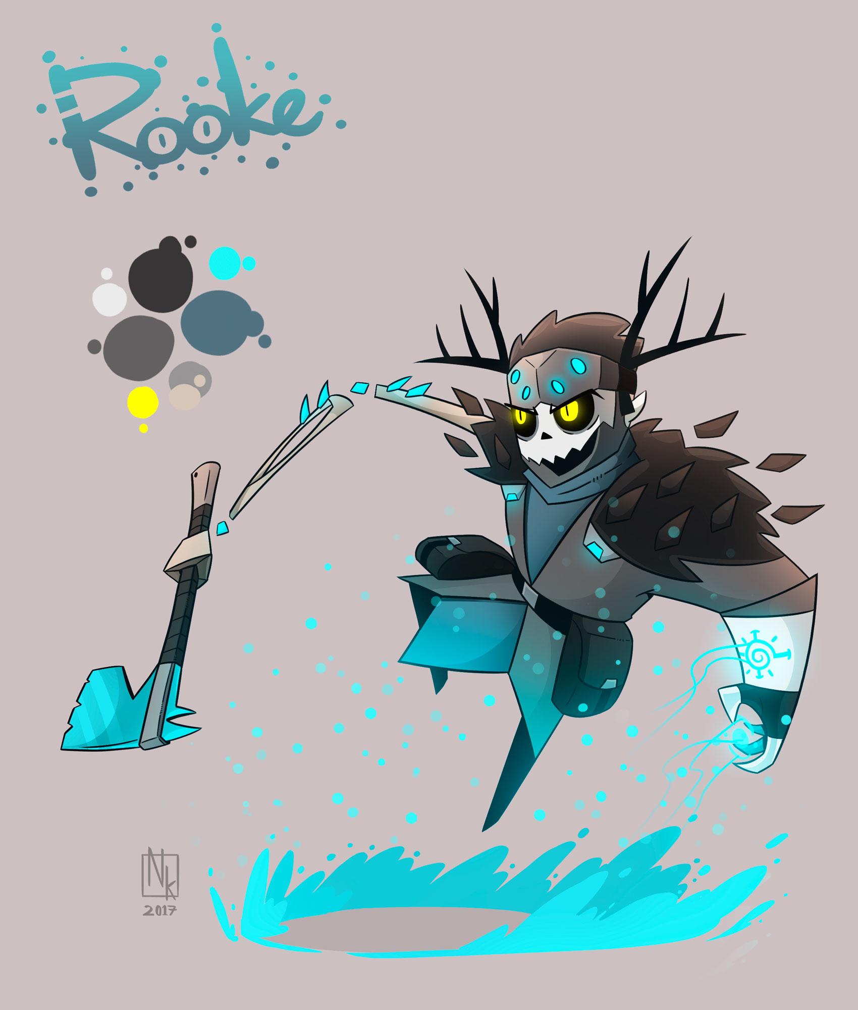 Webcomic character #2: Rooke