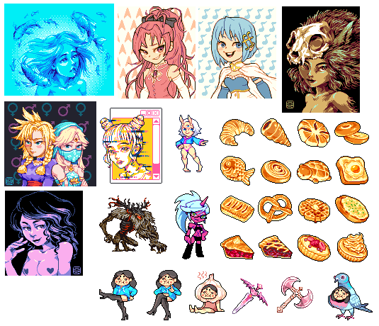 June Pixel Art Compilation