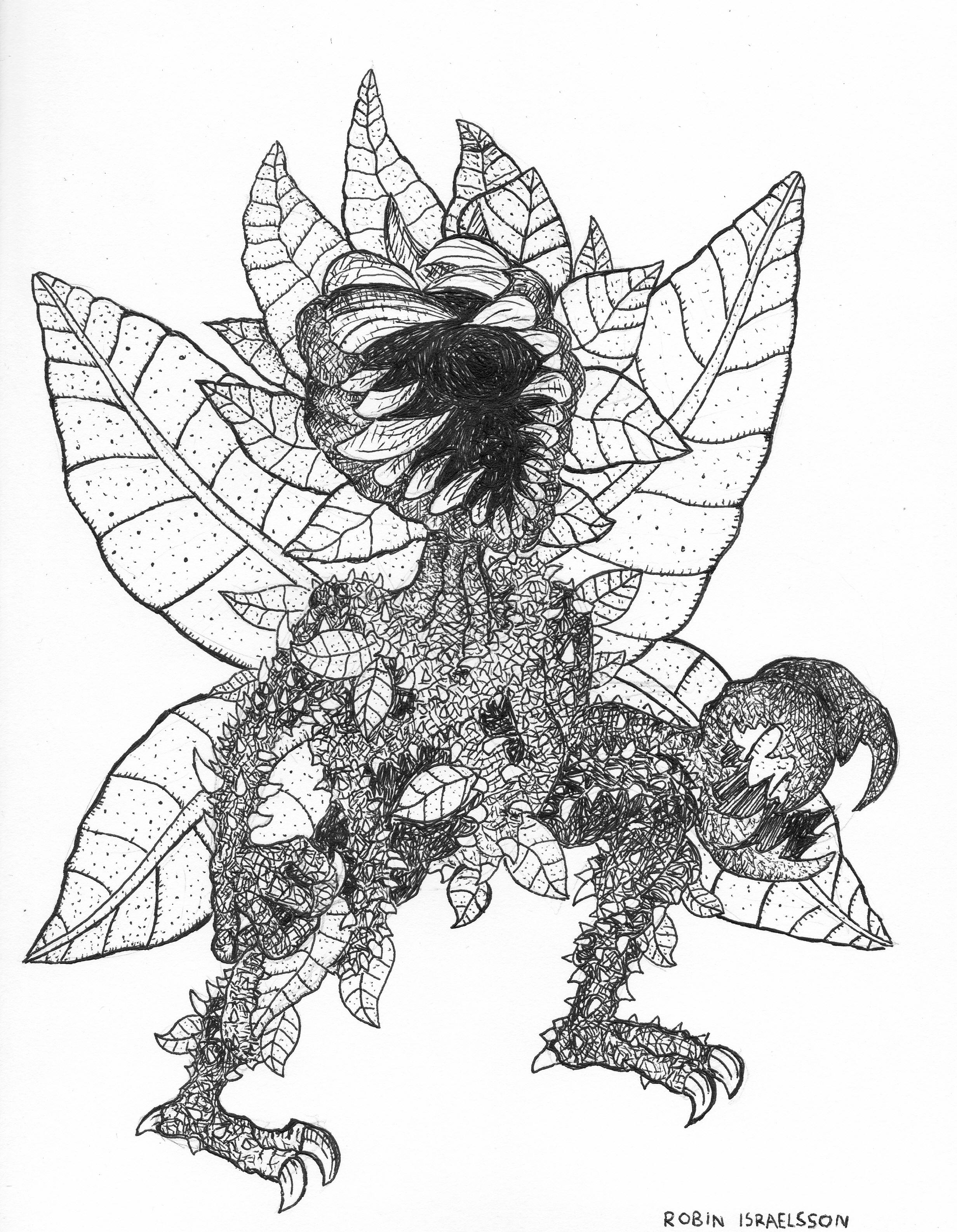 plant humanoid