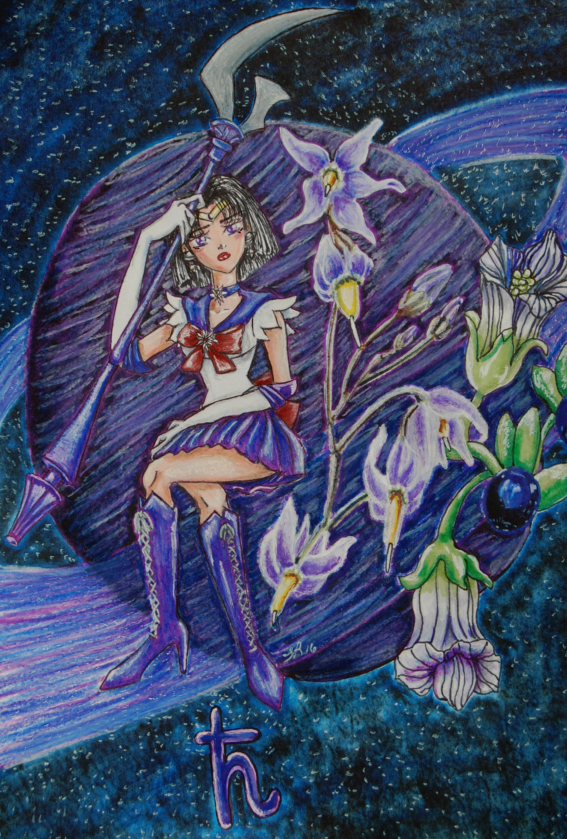 Soldier of Silence:Sailor Saturn (Bittersweet)