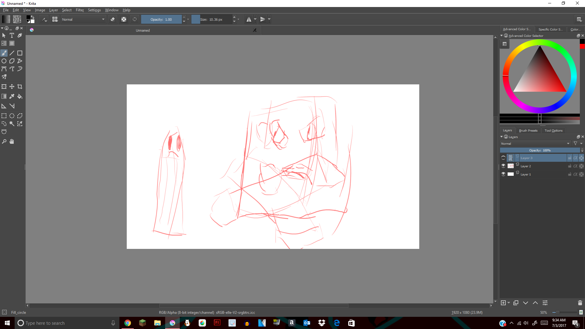 W.I.P of cant get past digital
