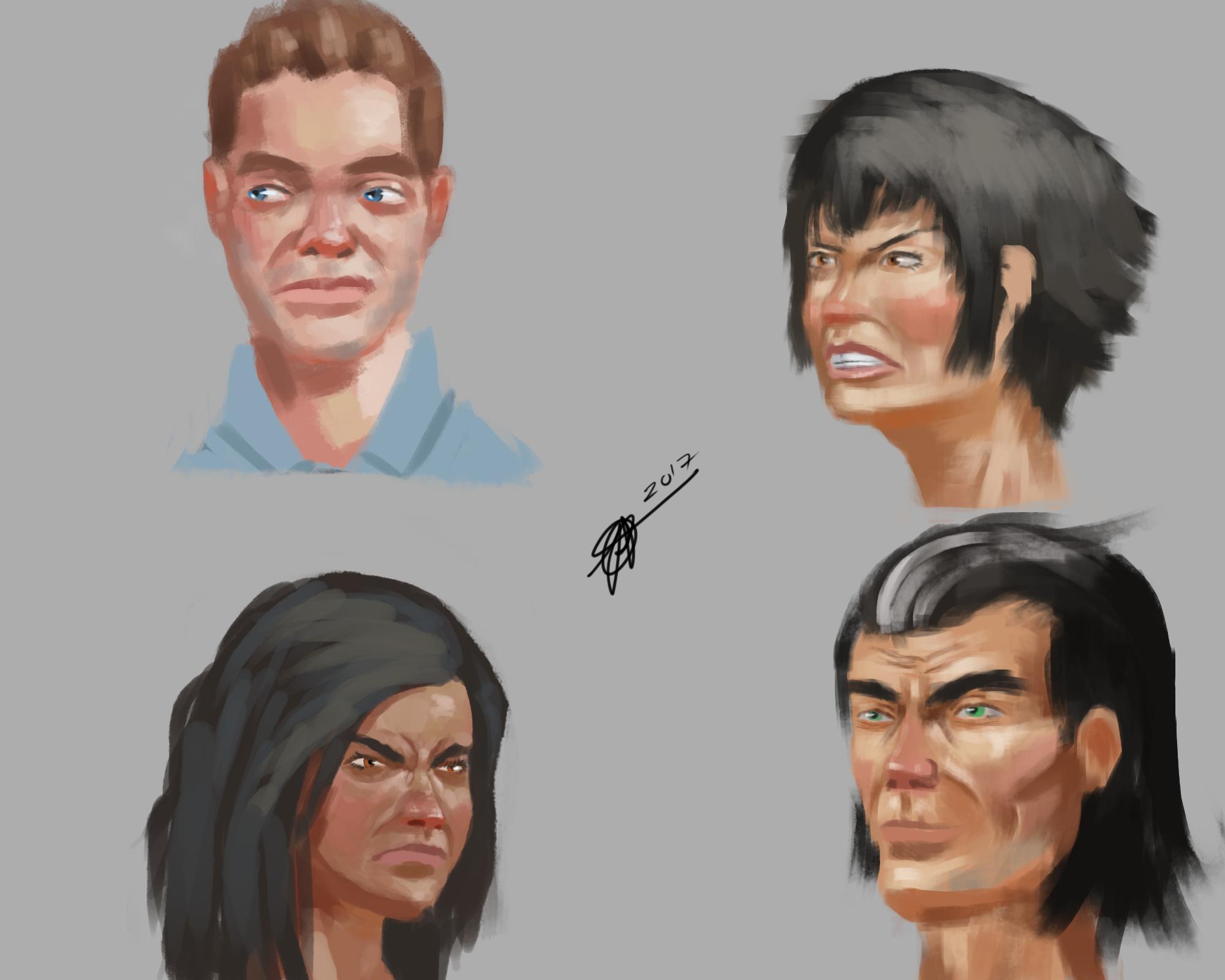 Face practice4
