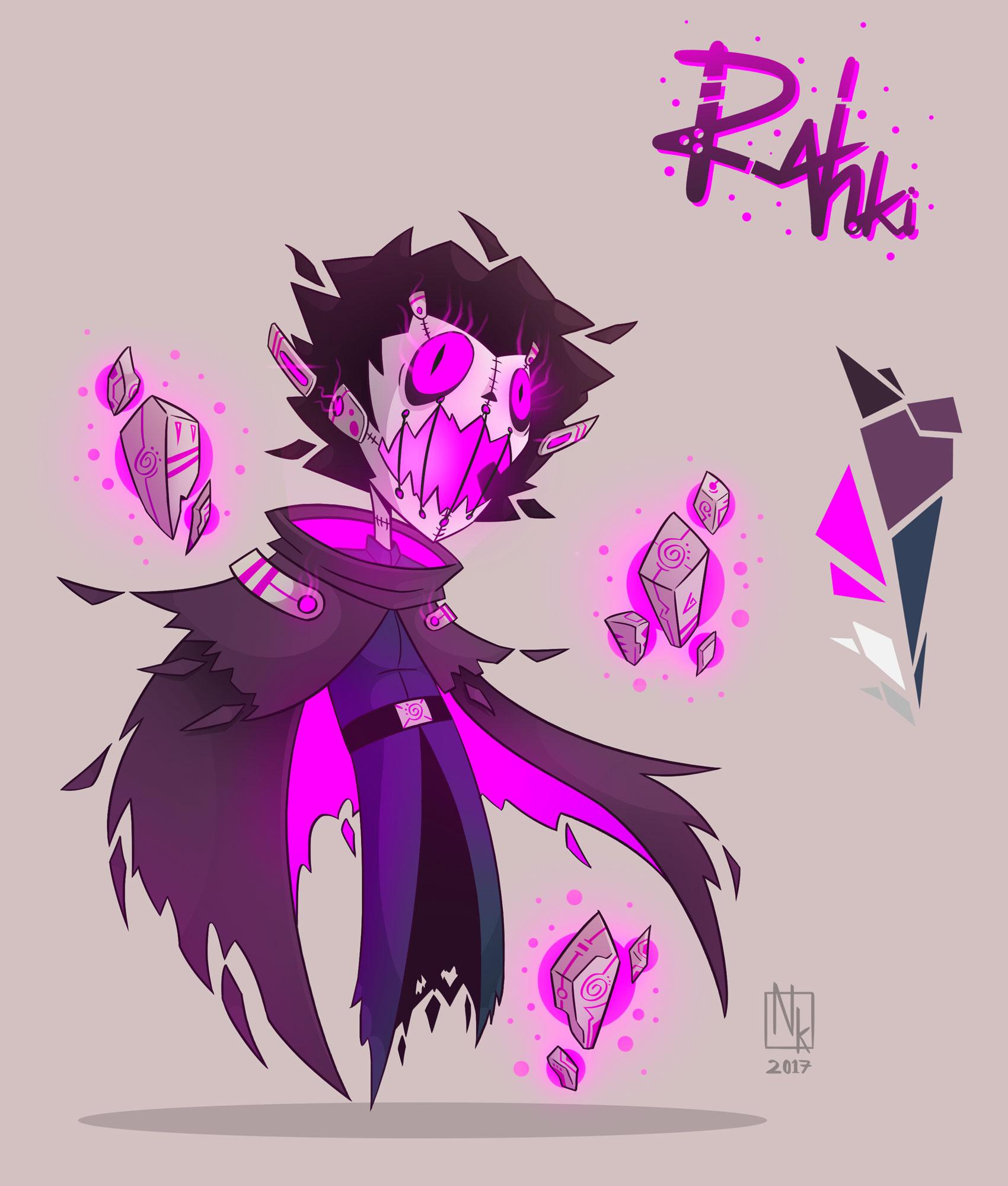 Webcomic character #6: Rahki
