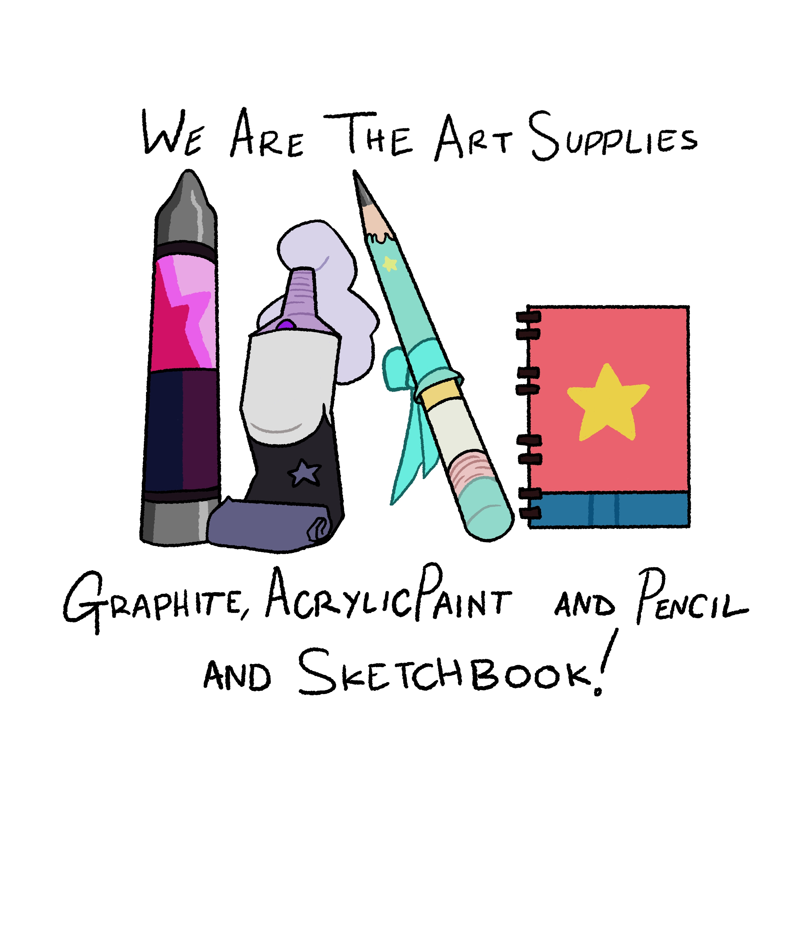 We Are The Art Supplies