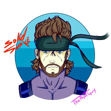 [Pixel Art] Solid Snake