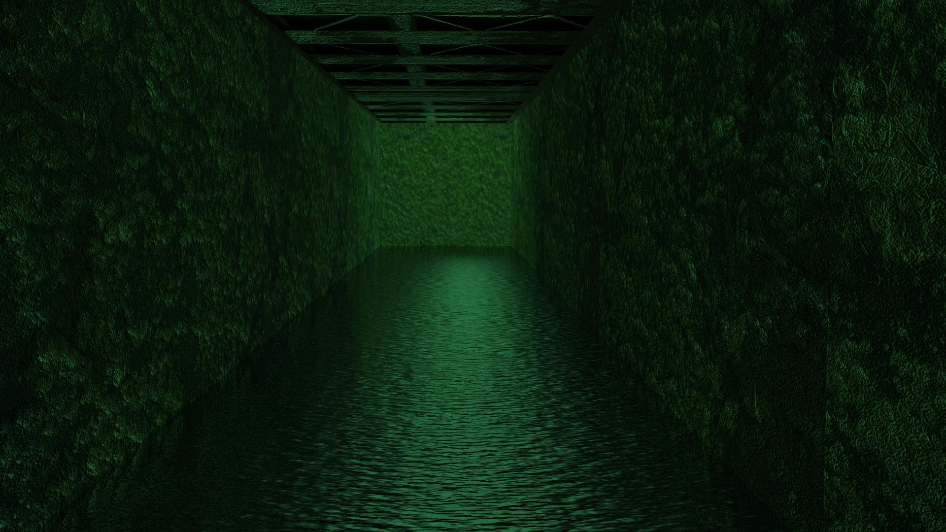Creepy tunnel of slime