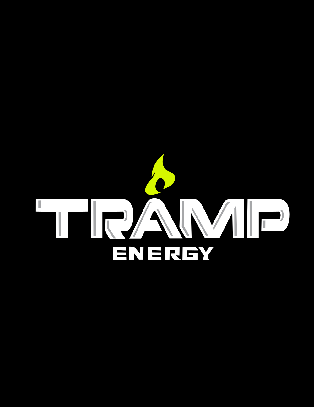 Amp energy drink Typography design TWO!!!!
