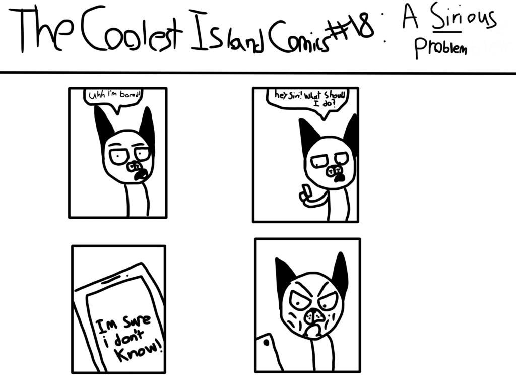 The Coolest Island Comics: A SIRIous Problem