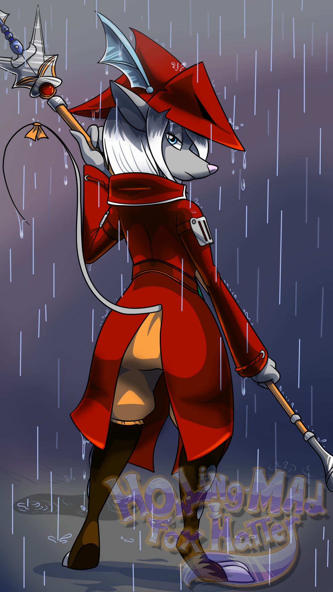 Rodent in the Rain