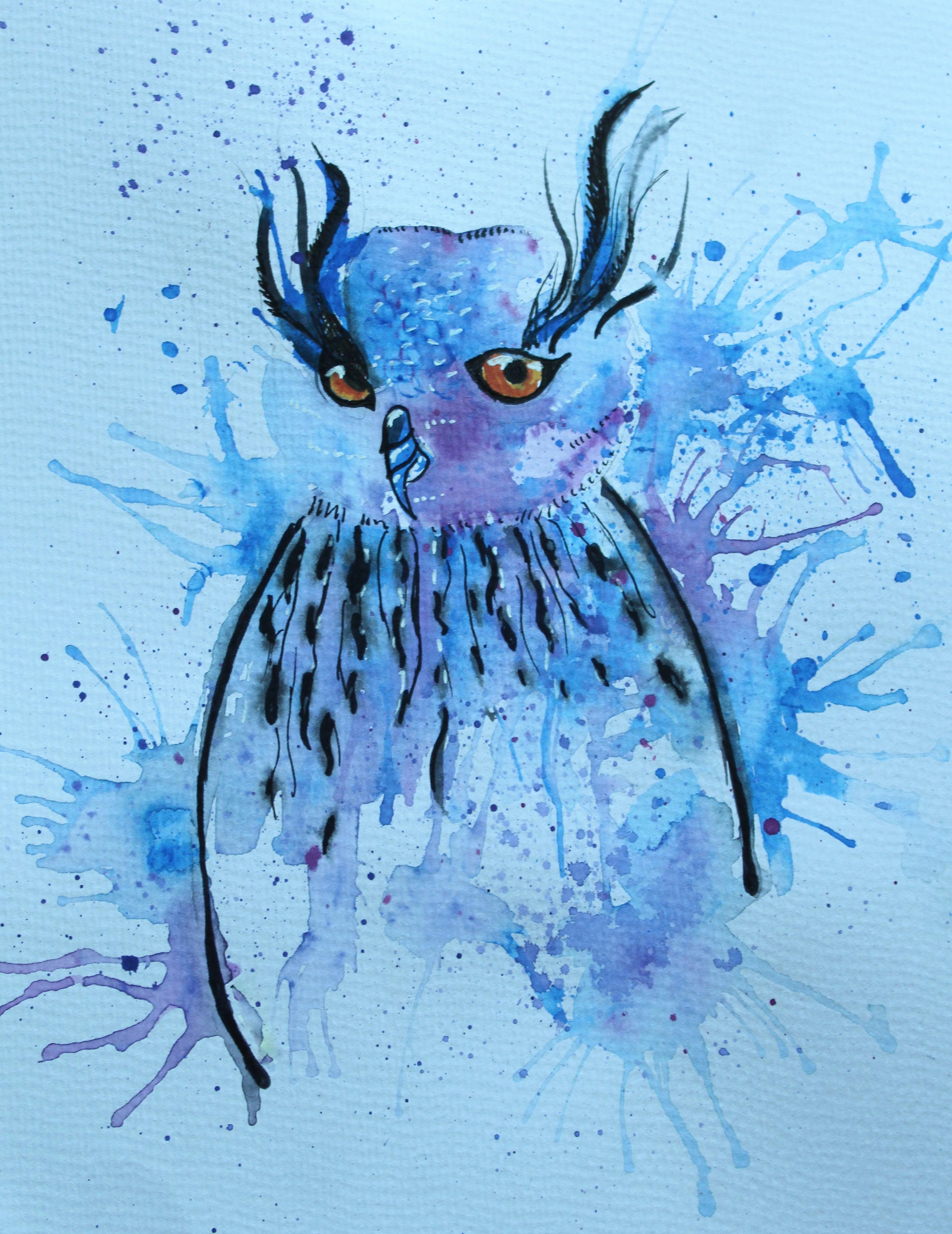 freaky owl