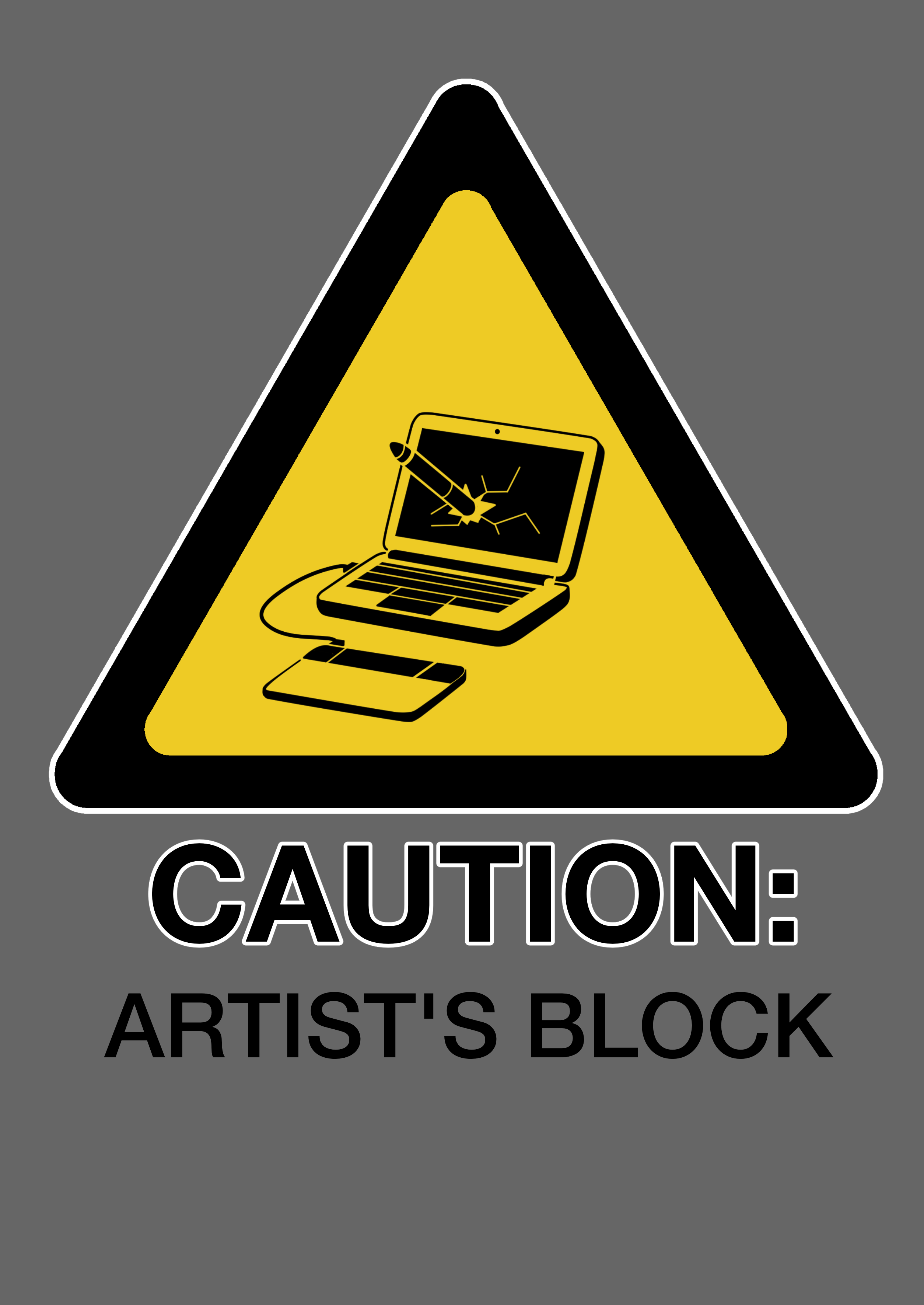 Jazza T-Shirt Design 3: Artist's Block