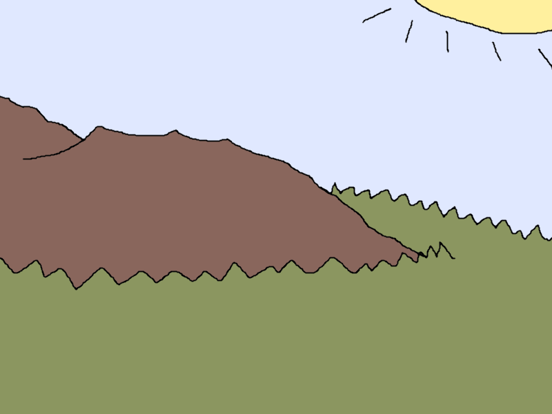Forested Plains and Hills