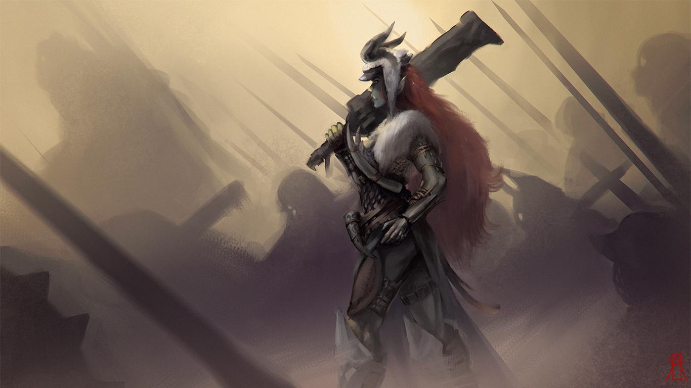 orc war maiden