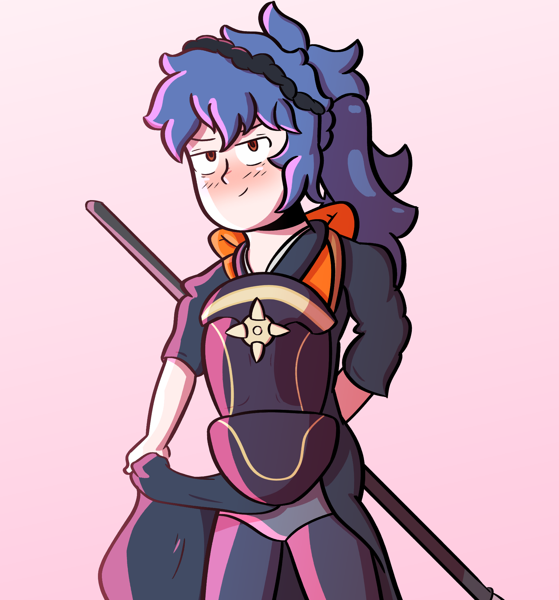 Oboro From Fire Emblem Looking Fly AF