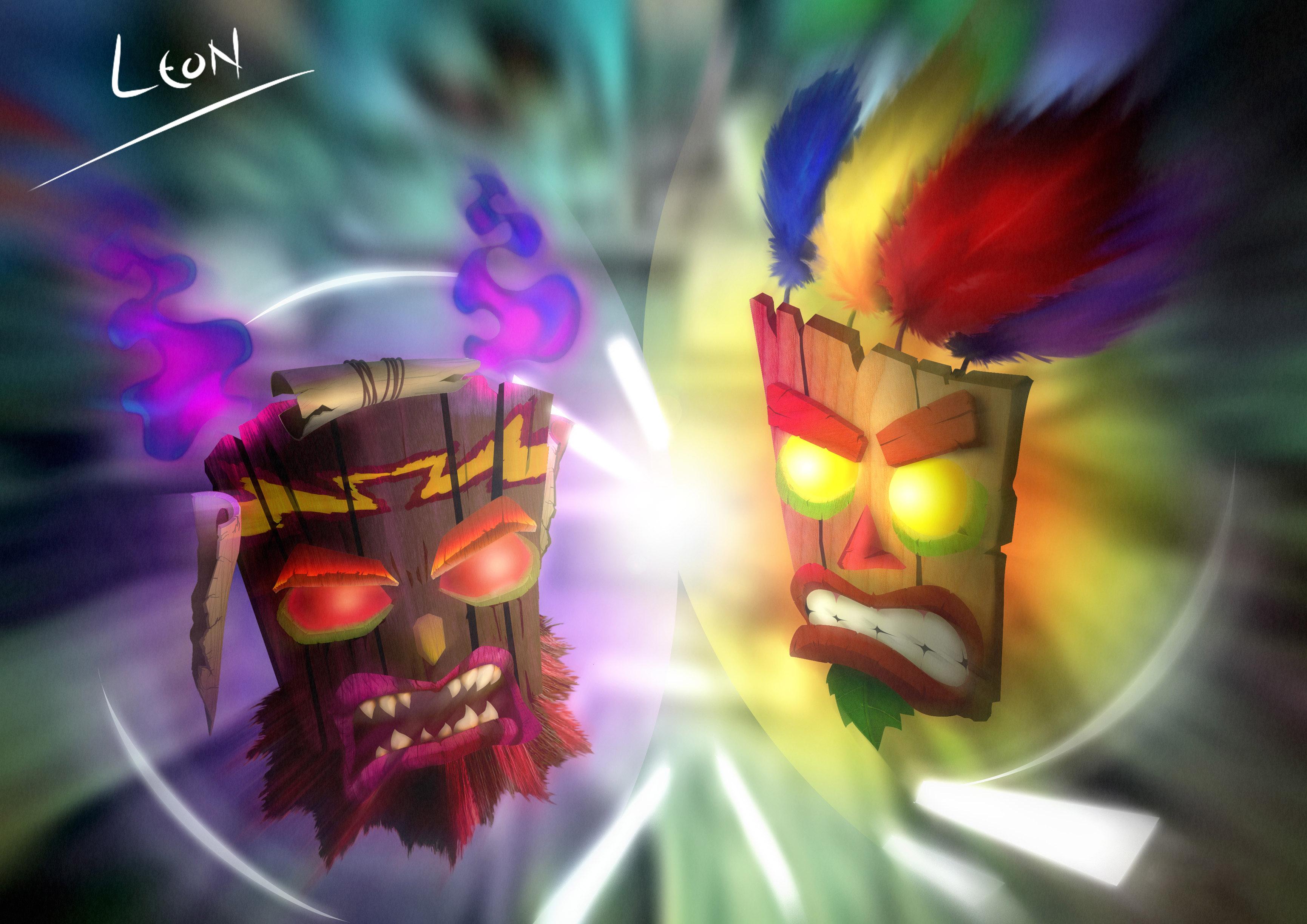 Aku-Aku vs Uka-Uka