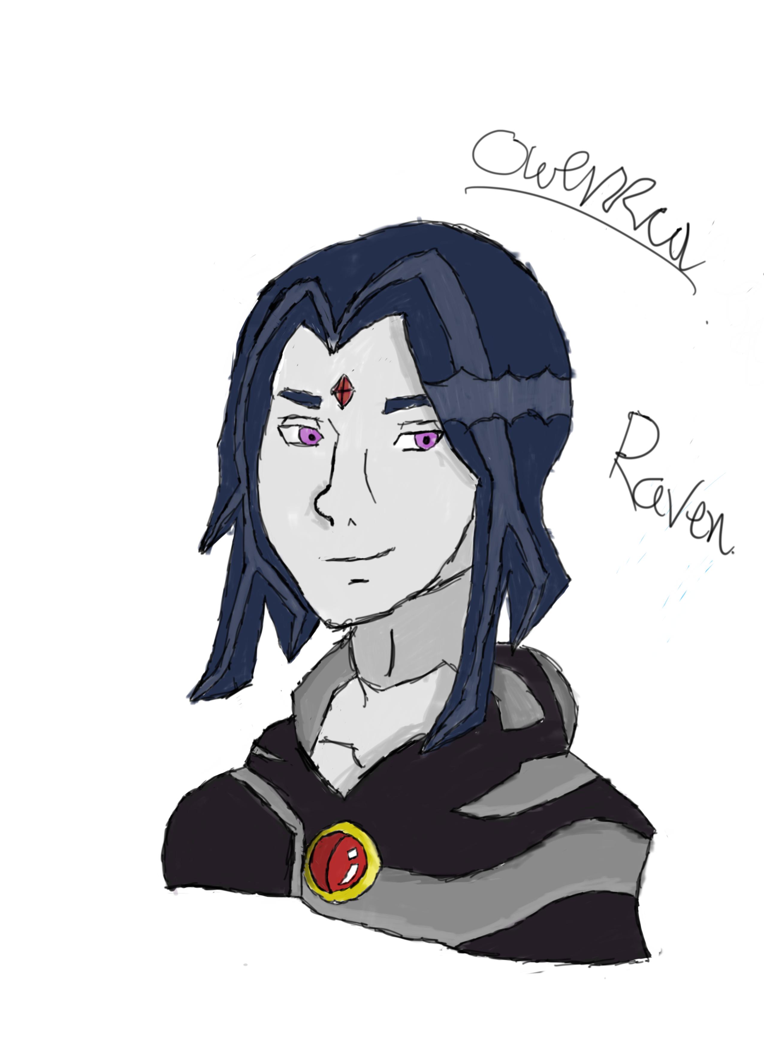 Raven (Teen Titans VS Justice League)