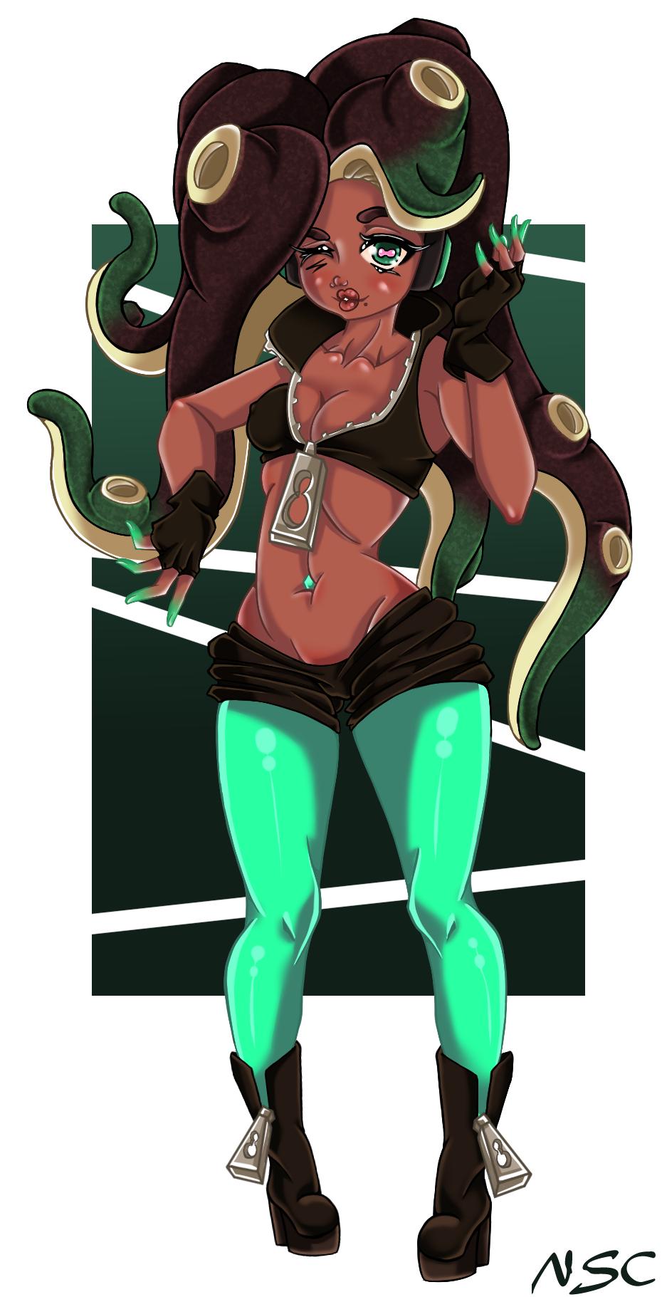 Splatoon2 Marina