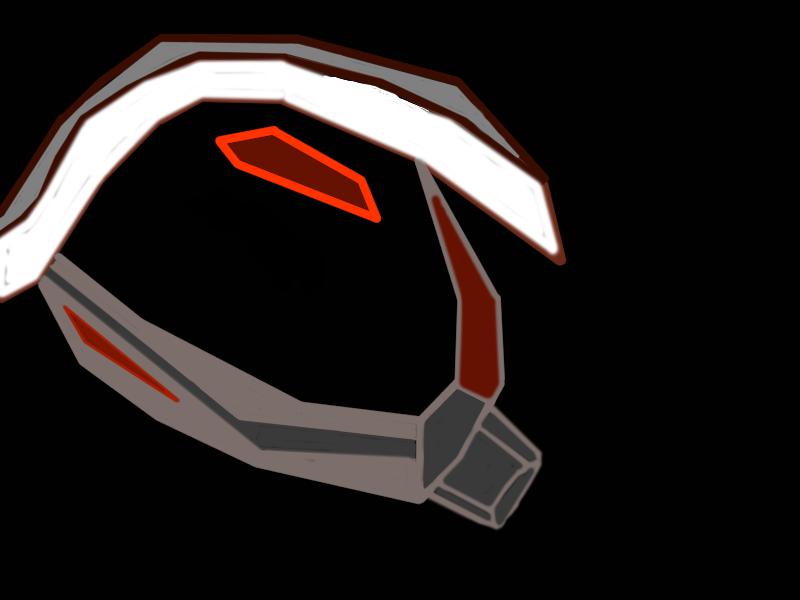 wireframe guard head