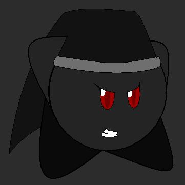 Angry Dark Link Kirby