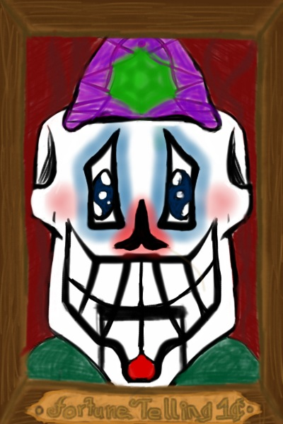 Fortune Telling Clown