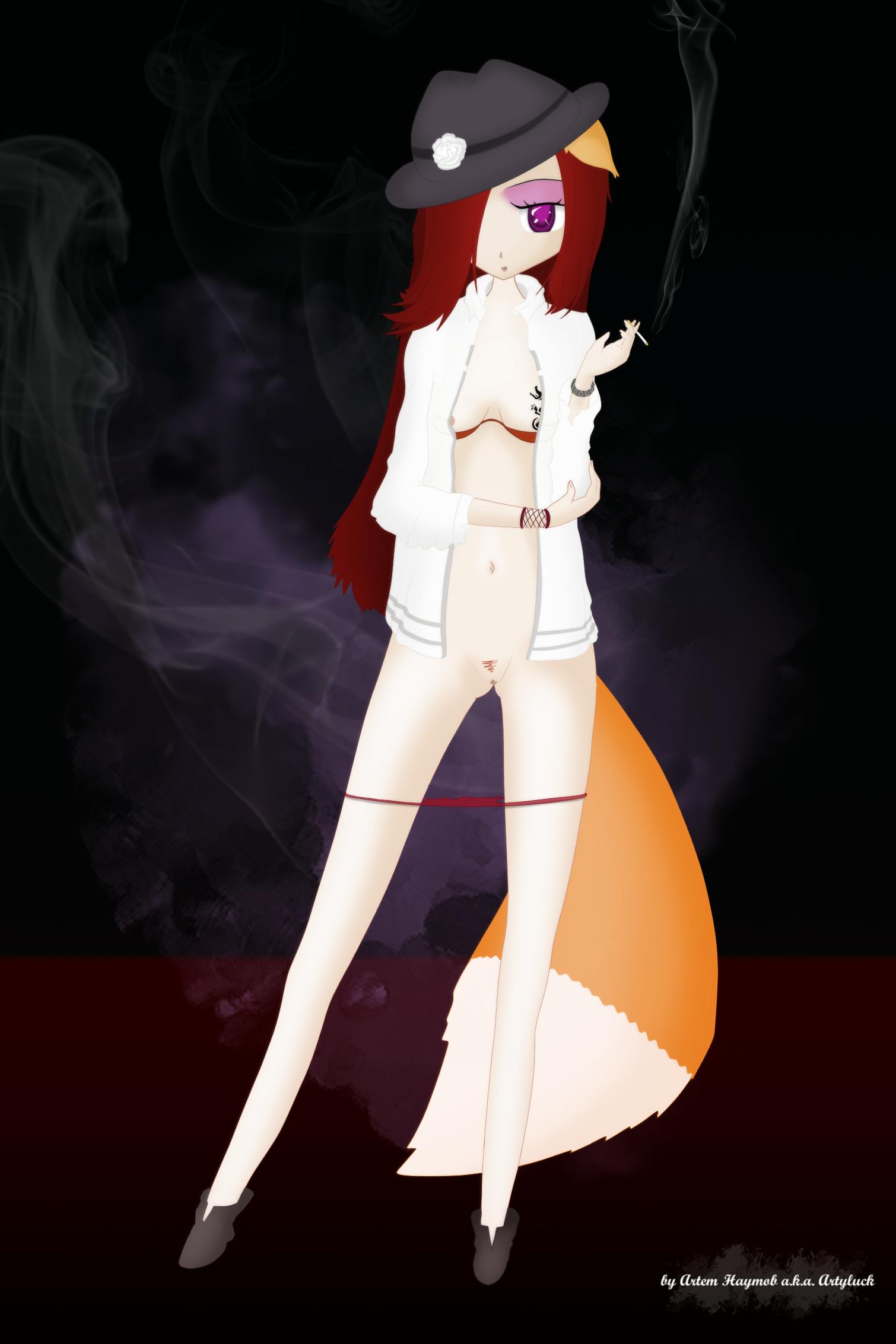 Smoking Foxy