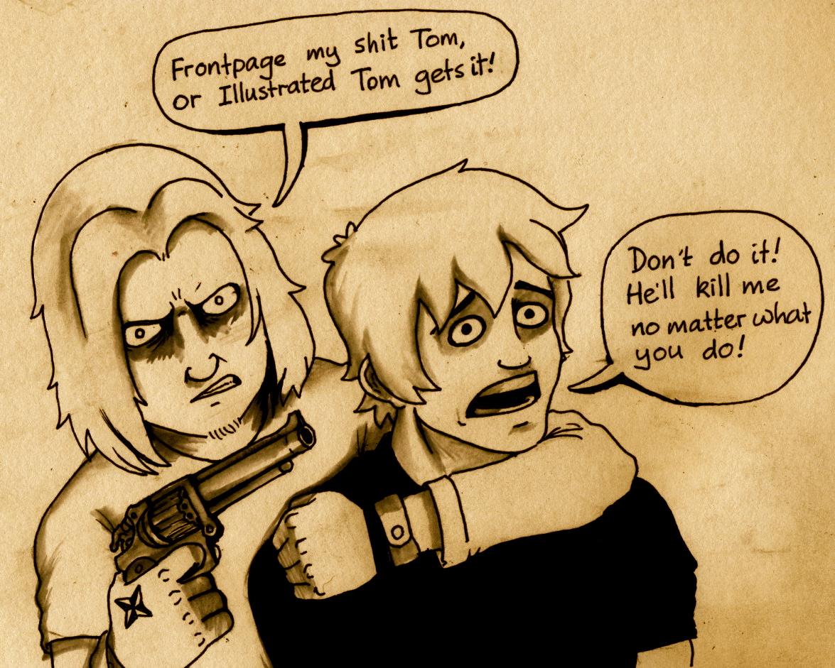 illustrated fulp is my hostage