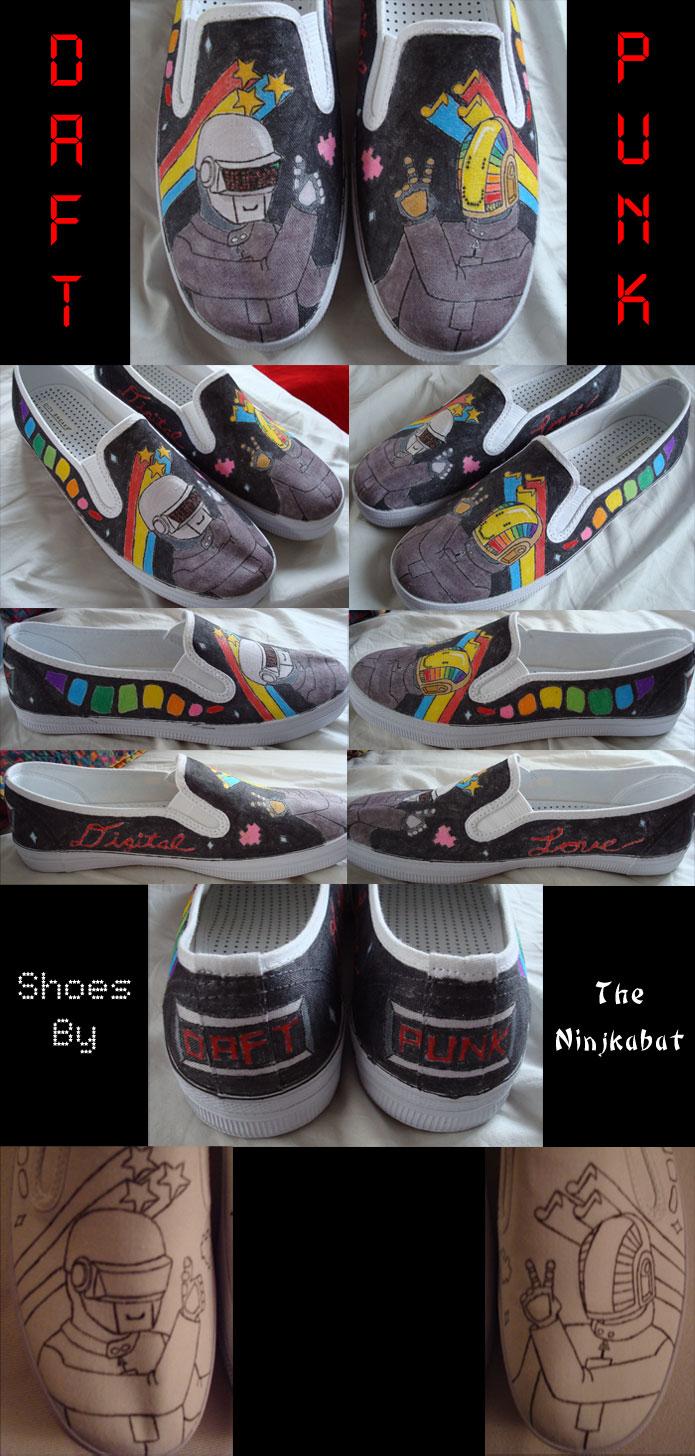 Daft Punk Shoes