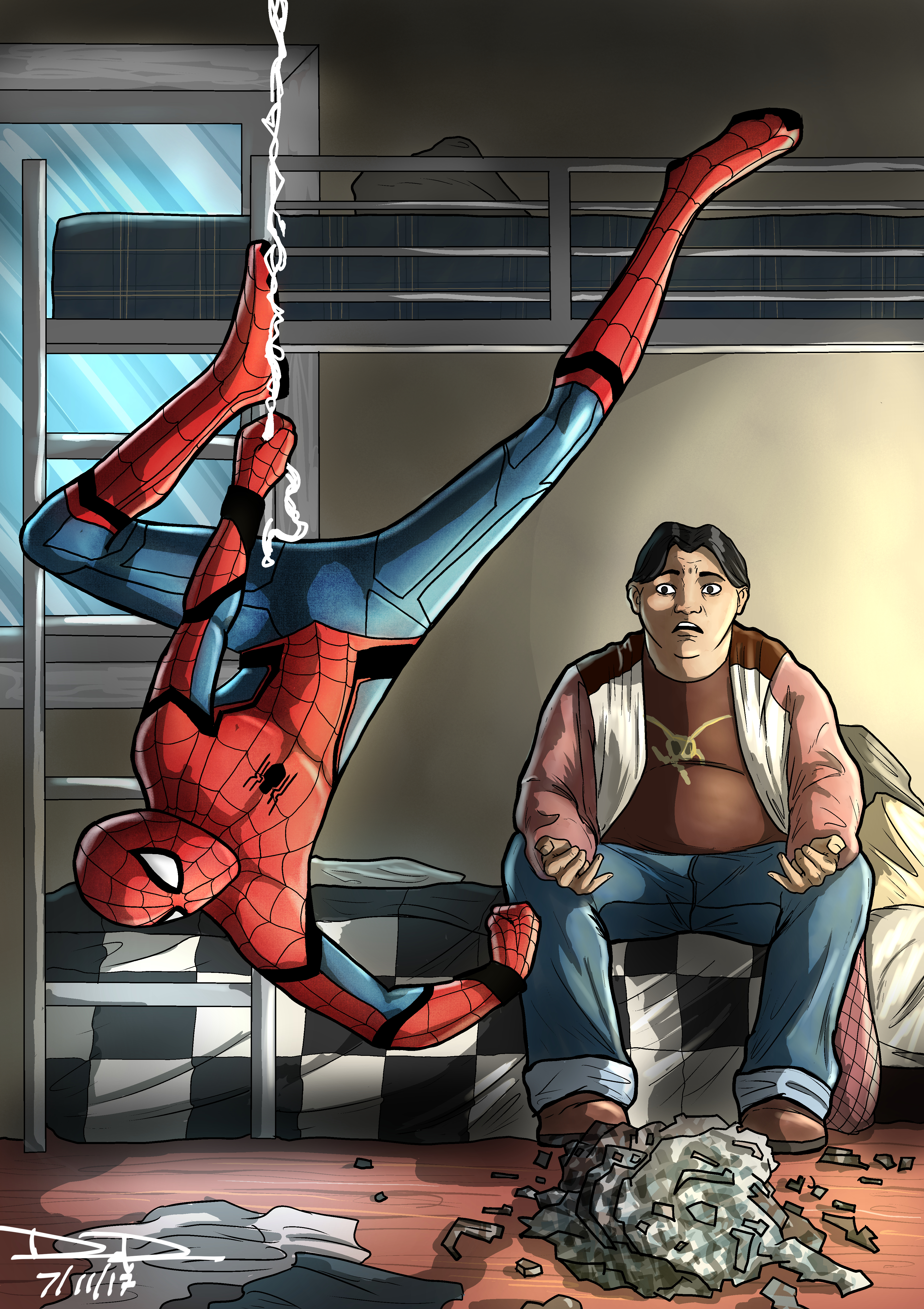 Spider-Man and Ned