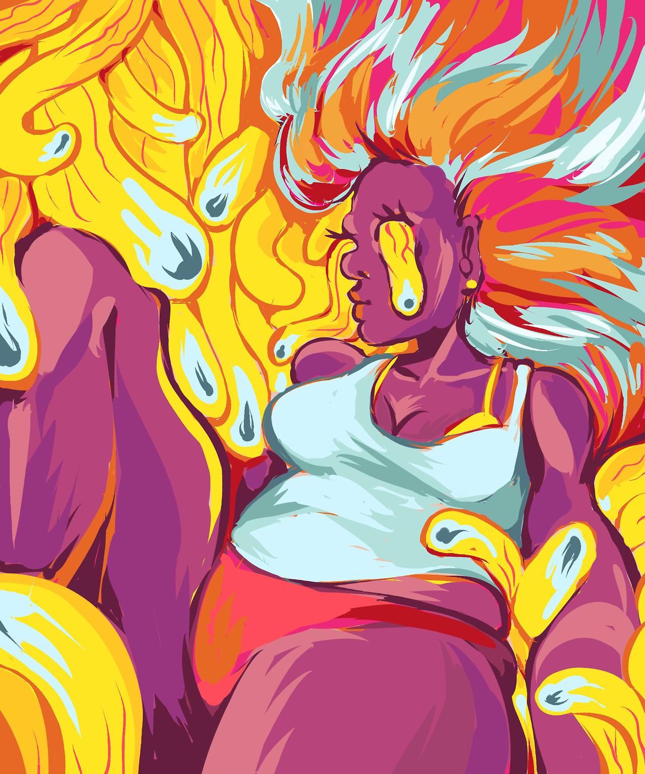 Eyeball Lady