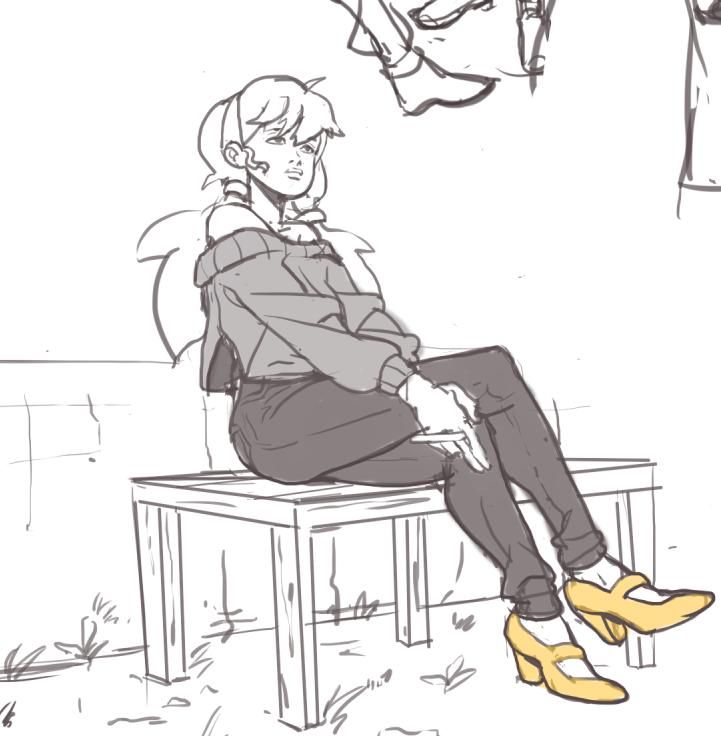 Yellow Heels